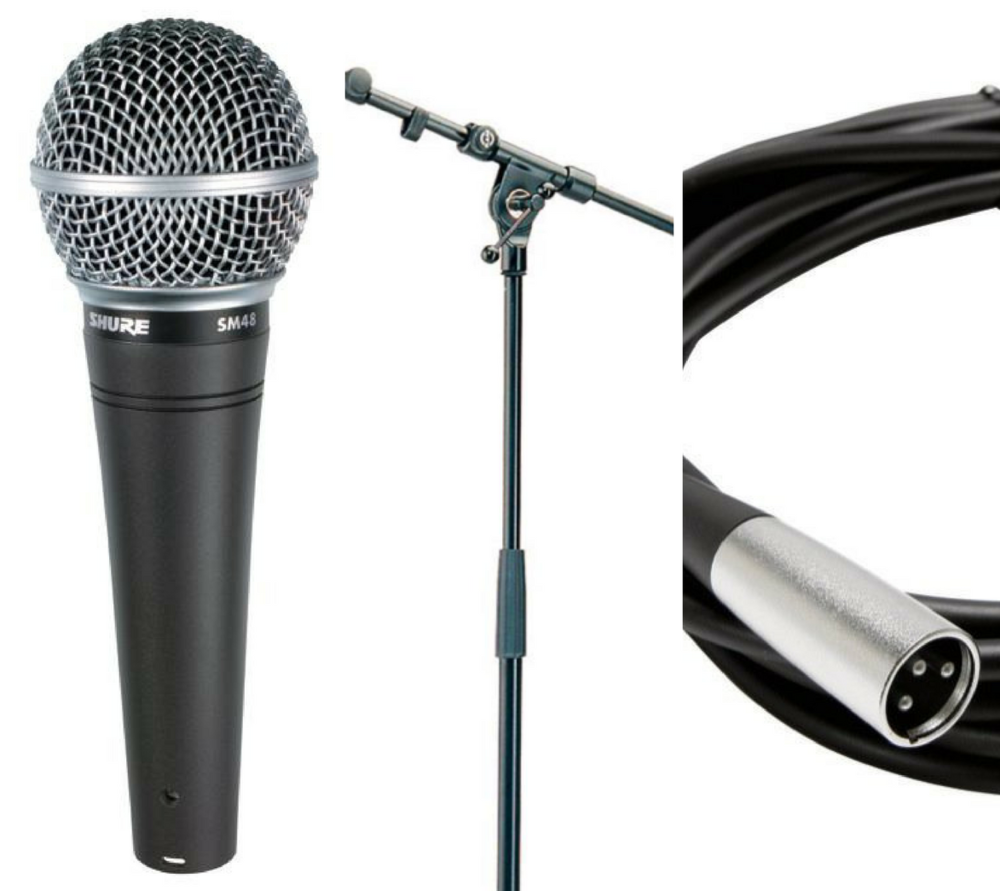 Microphone Only - $10/day  (deposit: $100)  Microphone Stand w/Boom Arm - $5/day  (deposit: $100)  Microphone Cable - $5/day  (deposit: $25)