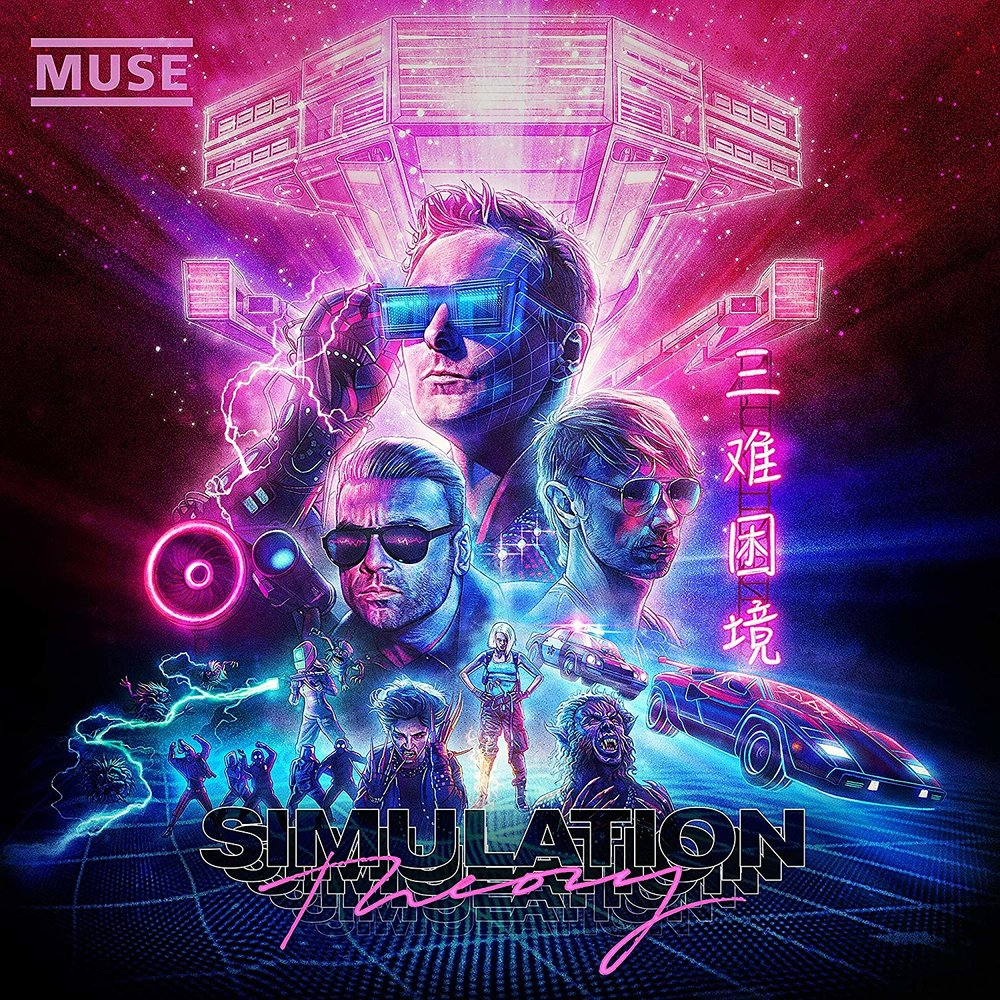 Muse  Dive Deep Into The 80's With Their Eclectic New   Simulation Theory