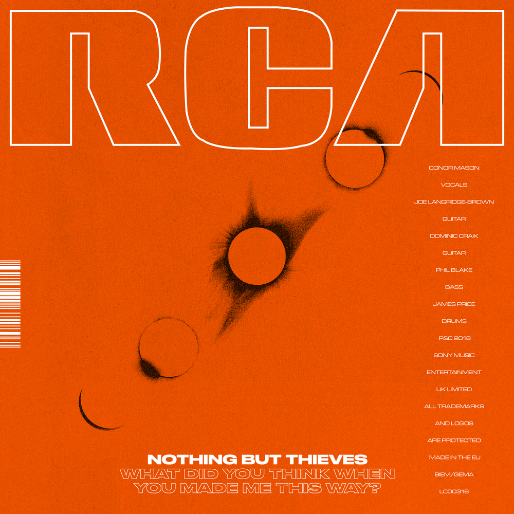 Nothing But Thieves  Bring Huge Energy In   What Did You Think When You Made Me This Way?