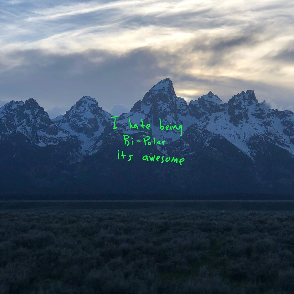 Kanye West  Gets In Tune With Himself In   ye