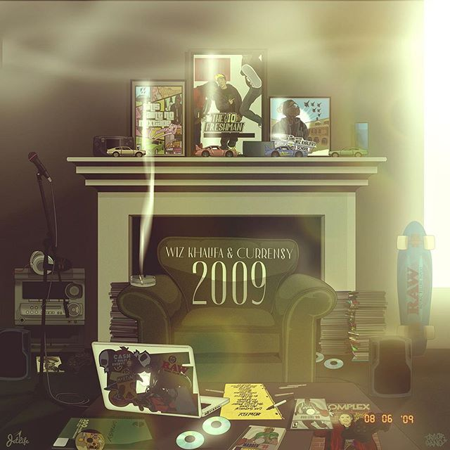 "ALBUM REVIEW: Wiz Khalifa & Curren$y - ""2009"" (link in bio for the full review) - - - - - - ""Wiz Khalifa & Curren$y revisit an overlooked era of hip-hop in their collaborative record 2009, not offering too many interesting tracks but putting their own modern touch in late-2000s hip-hop to provide for a refreshing listen."" - - - - - - #WizKhalifa #Currensy #2009 #HipHop #Rap #RapMusic #Problem #TyDollaSign #Music #NewMusic #MusicReview #Review #New"