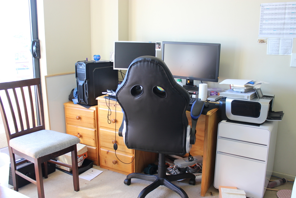Matt's old desk
