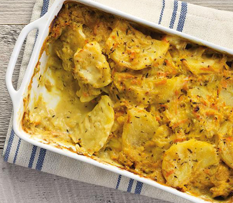 Potatoes Au Gratin (via Raley's)