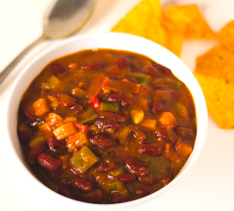 Red Beans Vegan Chili from Simple Vegan Blog
