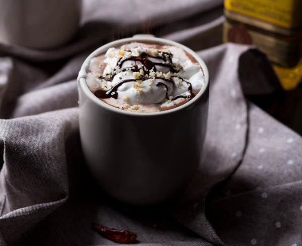 Tequila Spiked Mexican Hot Chocolate by Diary of an Ex-Sloth