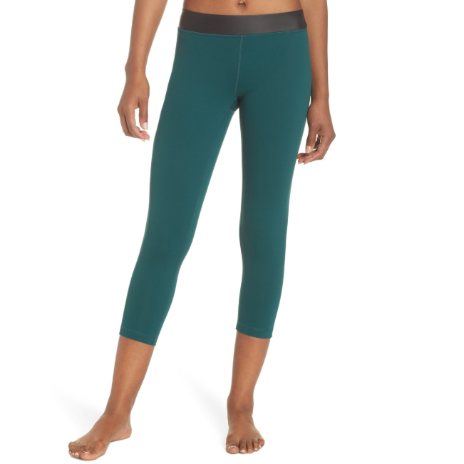 Zella Neo Banded Crop Leggings