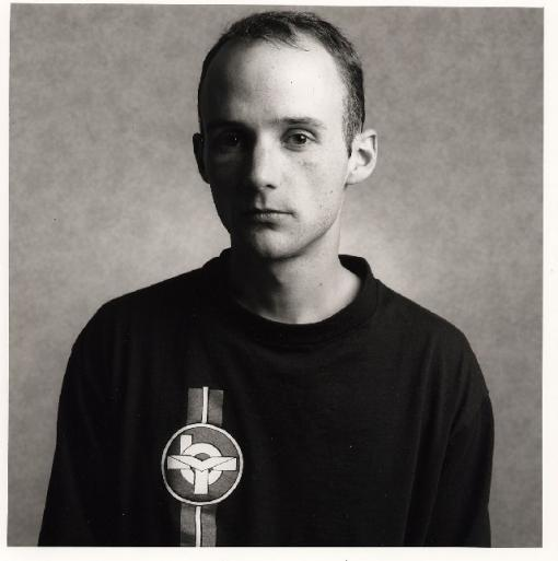 Moby—looking a bit goth, eh?