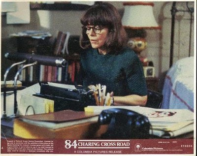 Anne Bancroft as Helene Hanff. Go see this movie right now.