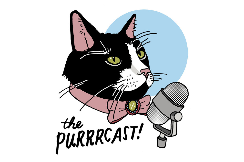 Steven and Sara interviewed me about Cats I've Known for their absolutely charming podcast, The Purrrcast:
