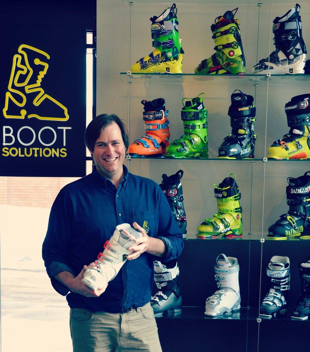 Ned Buckley, Boots Solutions, Niseko.
