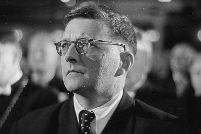 Dmitry Shostakovich, 1950.