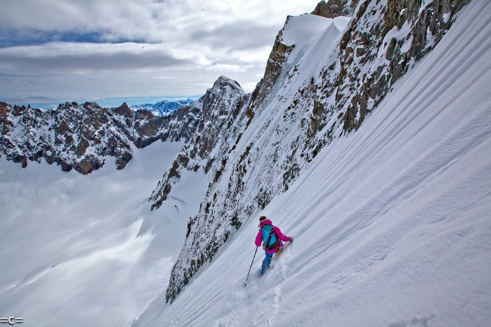 Col des Courtes, Chamonix.Photo: Cedric Bernardini