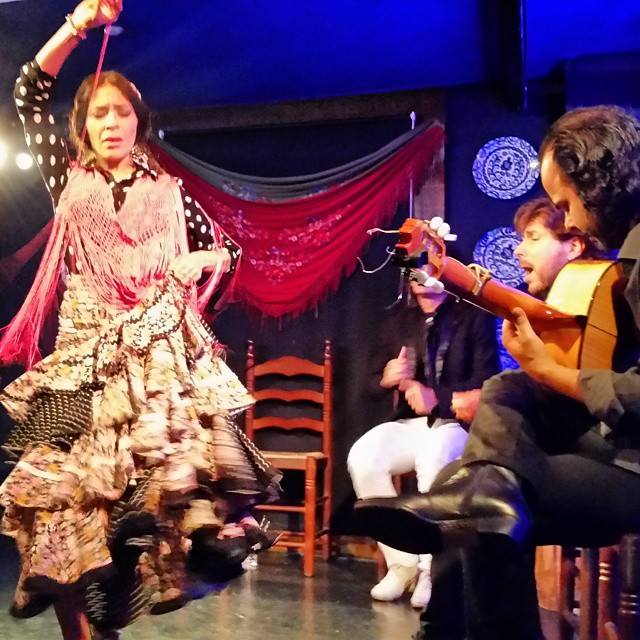 Flamenco at Tablao Flamenco La Quimera