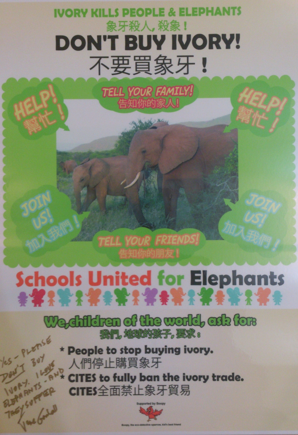 Campaign against ivory trade