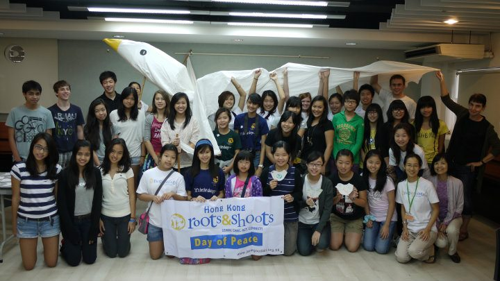 Roots & Shoots Hong Kong JGI