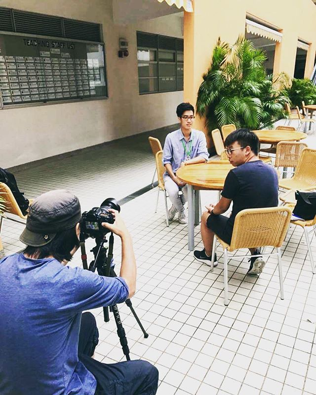 Behind the scenes at our interview with Apple Daily HK. The video and article will be released this weekend so keep an eye out for it! #JGIHK #rootsandshootshk #community #interview #environment