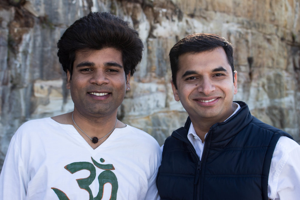 Piyush Ramavat & Kunal Bhusare at Catalysr Startup Bootcamp 2018