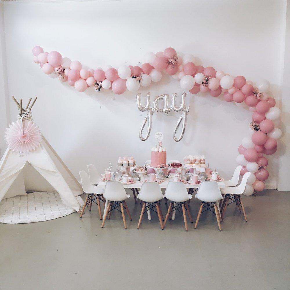 Styling, Desserts & Balloon Arch: Temika Trimboli