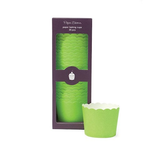 Baking Cups Lime Green