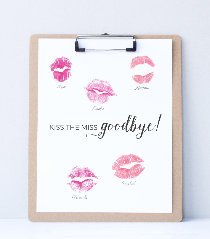 Kiss the Miss Goodbye