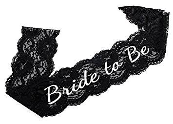 You might also like - Lace Bride to be sash