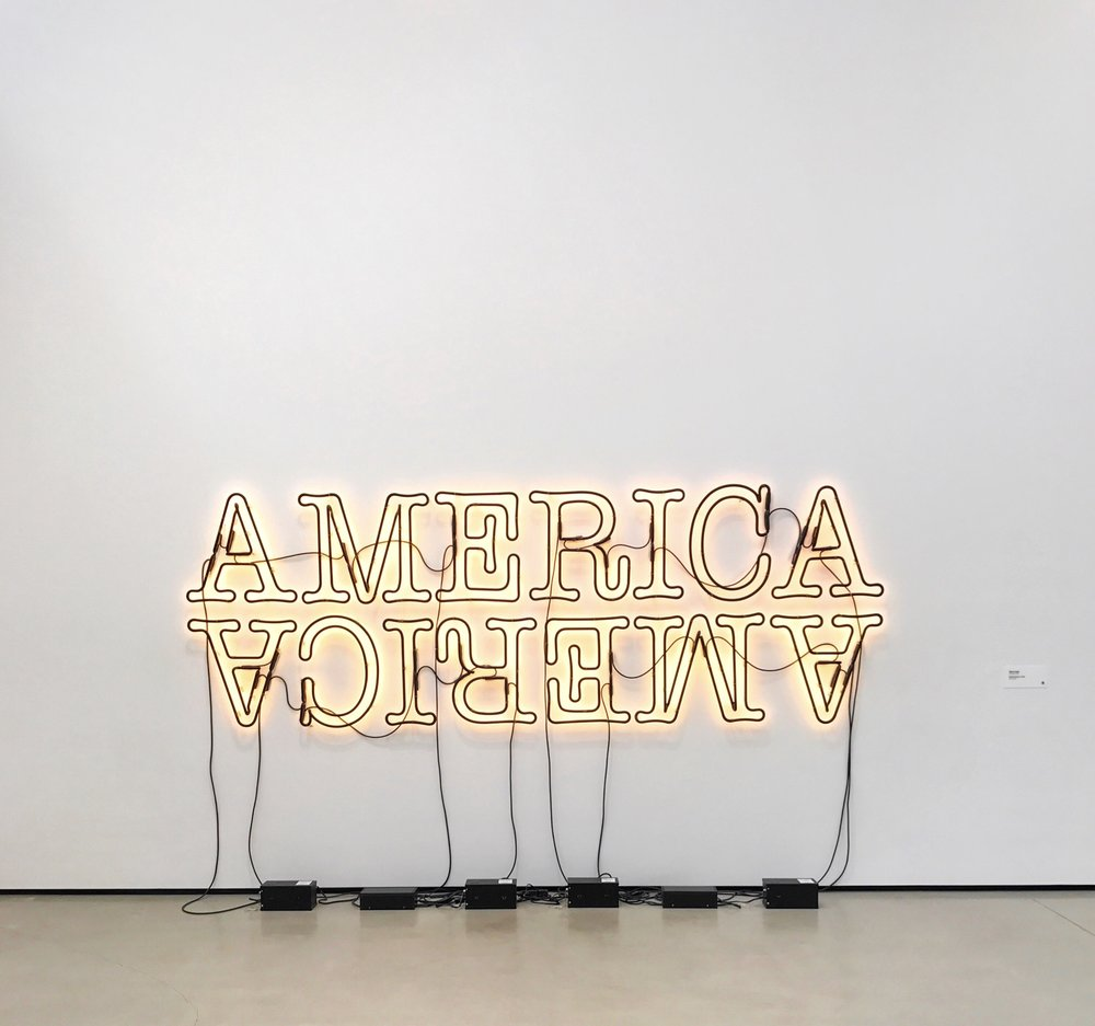 Glenn Ligon, Double America 2