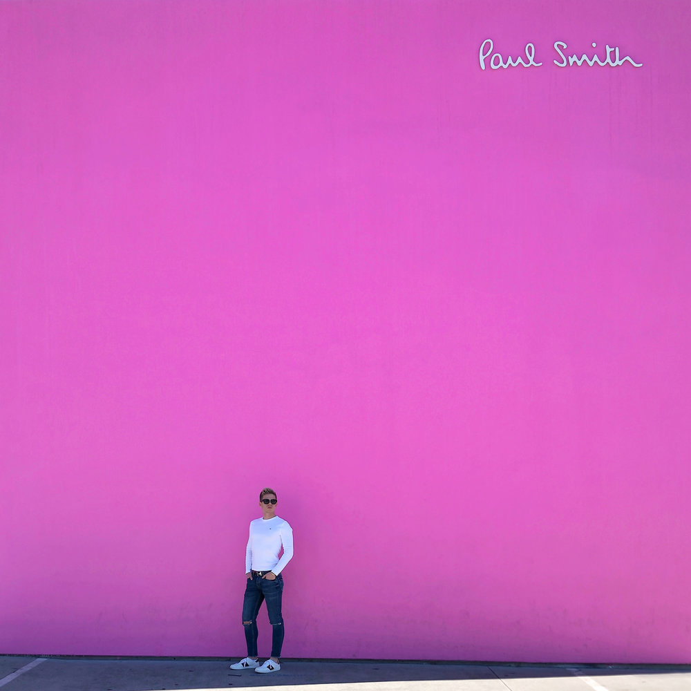 Paul Smith's Pink Wall