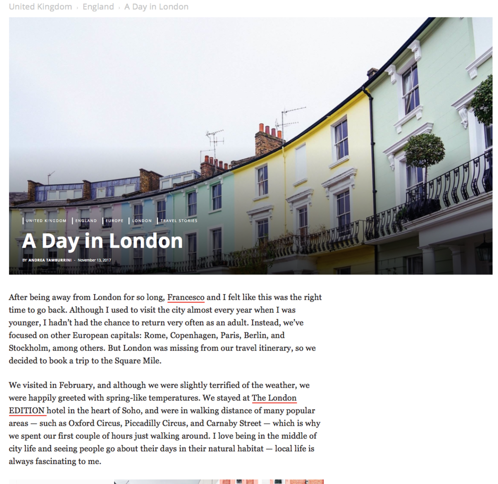 A Day in London - PassionPassport