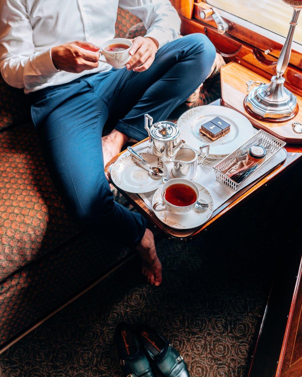 Tea time -