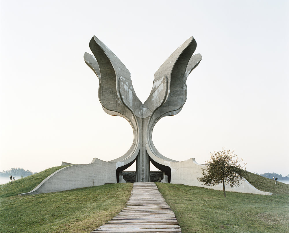 Jasenovac - from the Spomenik series by Jan Kempenaers