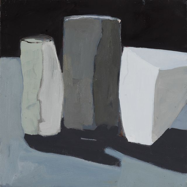 Still LIfe Variation VI, 2016, oil on canvas by Helen Gauchat