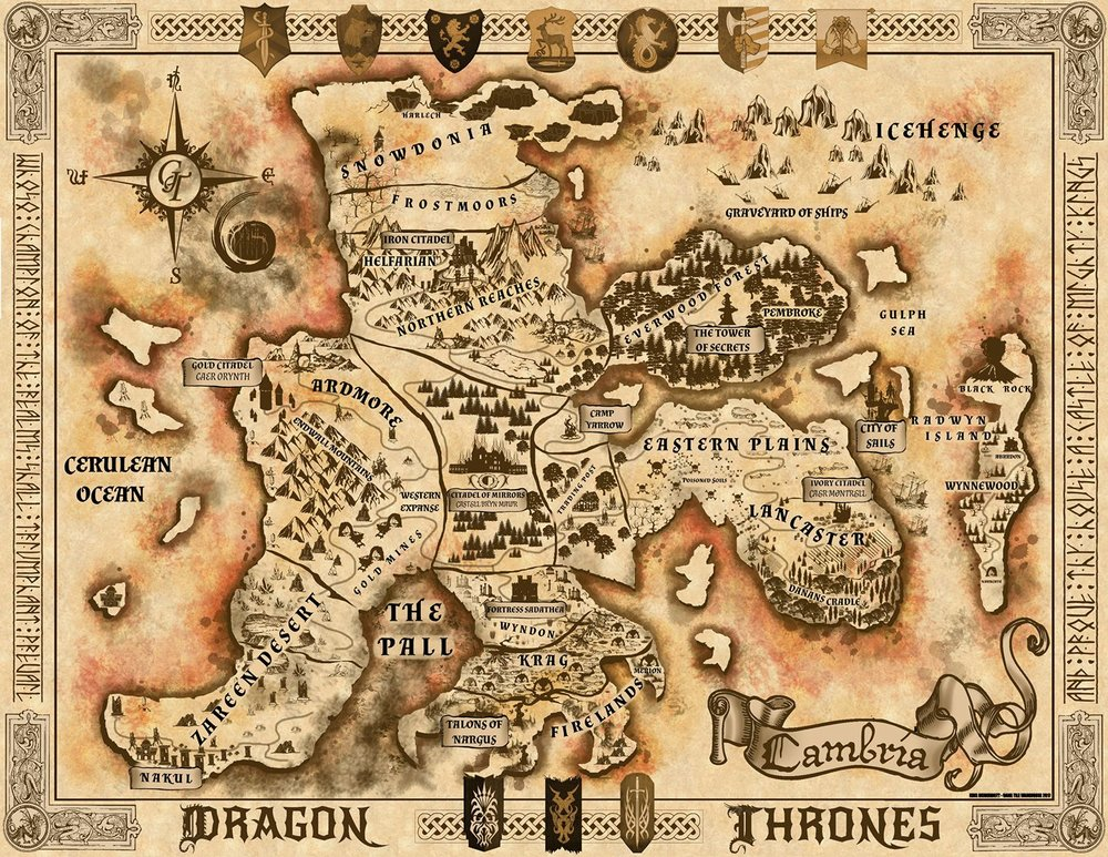 The Houses Clans Dragon Thrones