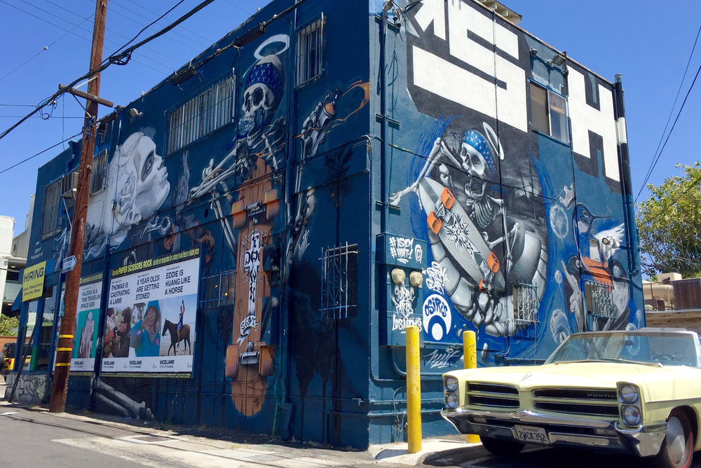 The latest authorized Dogtown Skateboards mural