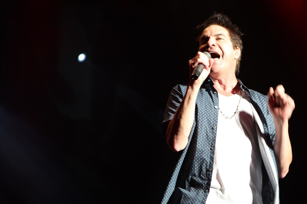 Train plays the Pacific Amphitheater at the OC Fair on Aug. 8, 2016.            Photo: Frank Germano