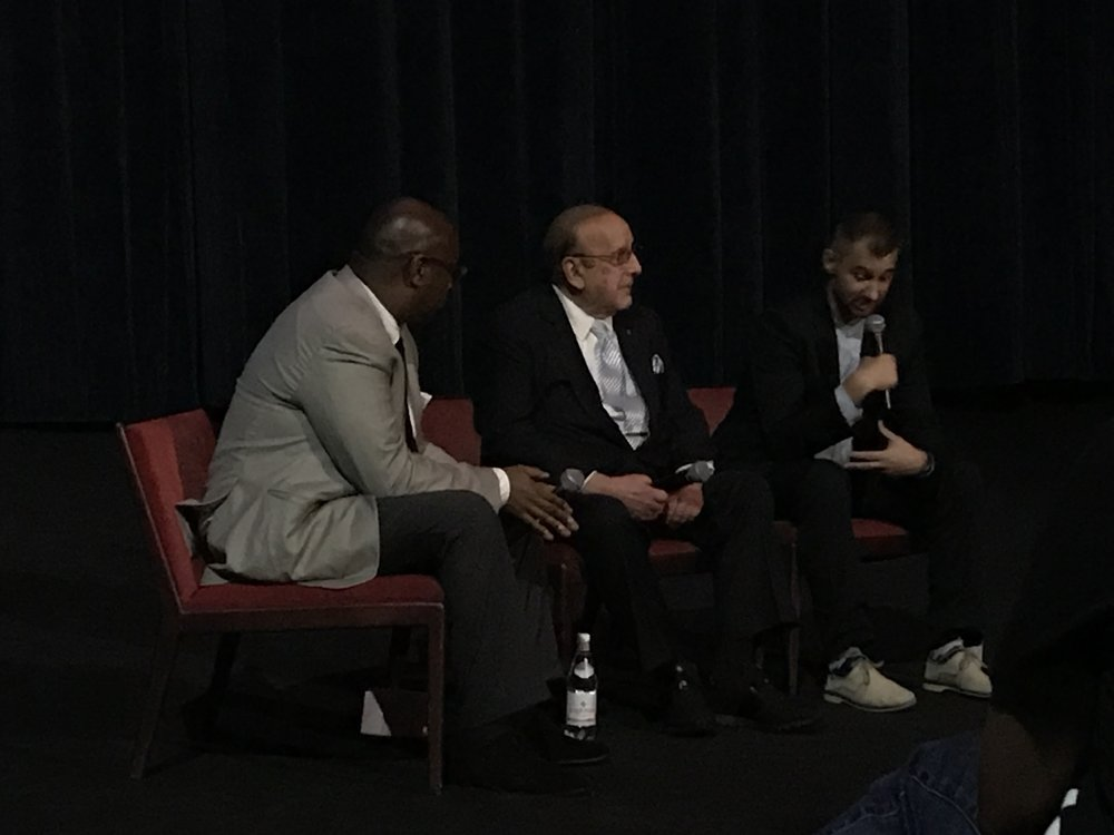 Clive Davis at the Arclight Hollywood on Sept. 27, 2017.