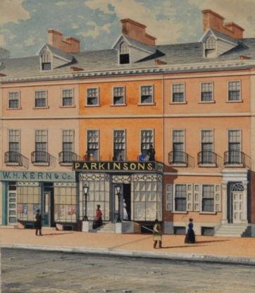 Parkinson's Ice Cream Shop, courtesy of the  Historical Society of Philadelphia