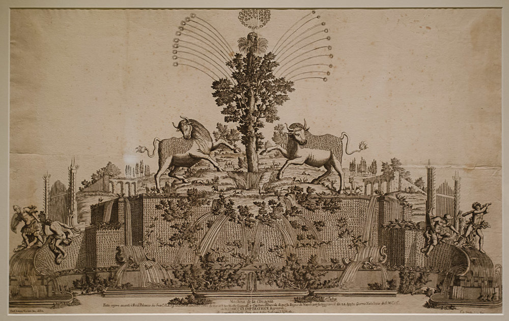 Cuccagna Monument for the Birthday of Empress Elizabeth Christina, Naples, 1728-33. Designed by Domenico Antonio Vaccaro (1678-1745). Courtesy of the Getty Research Institute, Los Angeles. Photo by Mike Portt