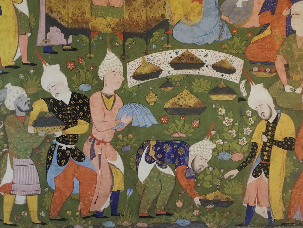 A Thousand & One Recipes: Caliphate Cooking in 10th Century Baghdad     This week we're travelling to the golden age of the Islamic Empire in 10th century Baghdad. Hidden in a bustling paper market, we'll visit a mysterious bookmaker responsible for one of the largest cookbooks from the medieval world. While it may not have exactly 1,001 recipes (only 632 at last count...), the book is a treasure trove of medieval dining etiquette, recommendations for healthy eating, and some of the best food poetry we've ever read (ode to a fried fish, anyone?).