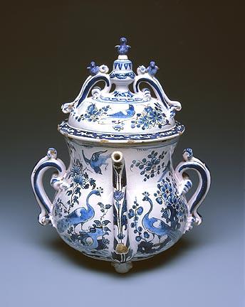 English, Posset Pot, ca. 1695. Milwaukee Art Museum, Gift of Virginia and Robert V. Krikorian. Photo by John R. Glembin