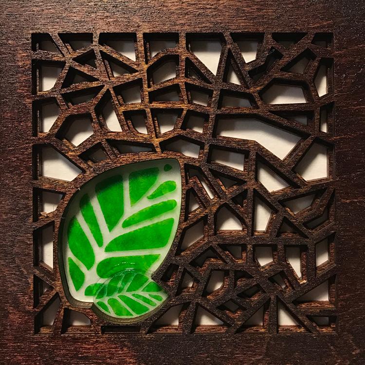Voronoi Beech (Mahogany)