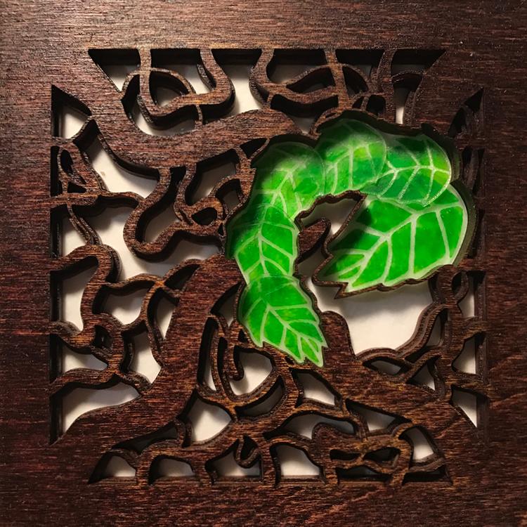 Twisted Alder (Mahogany)