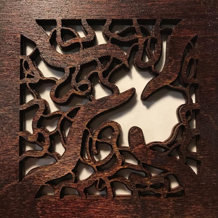 Corkscrew Hazel (Mahogany)