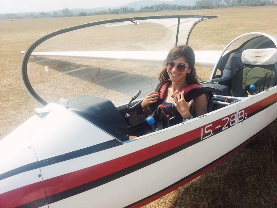 Septembrie 2013, cand am zburat pentru prima oara singura.