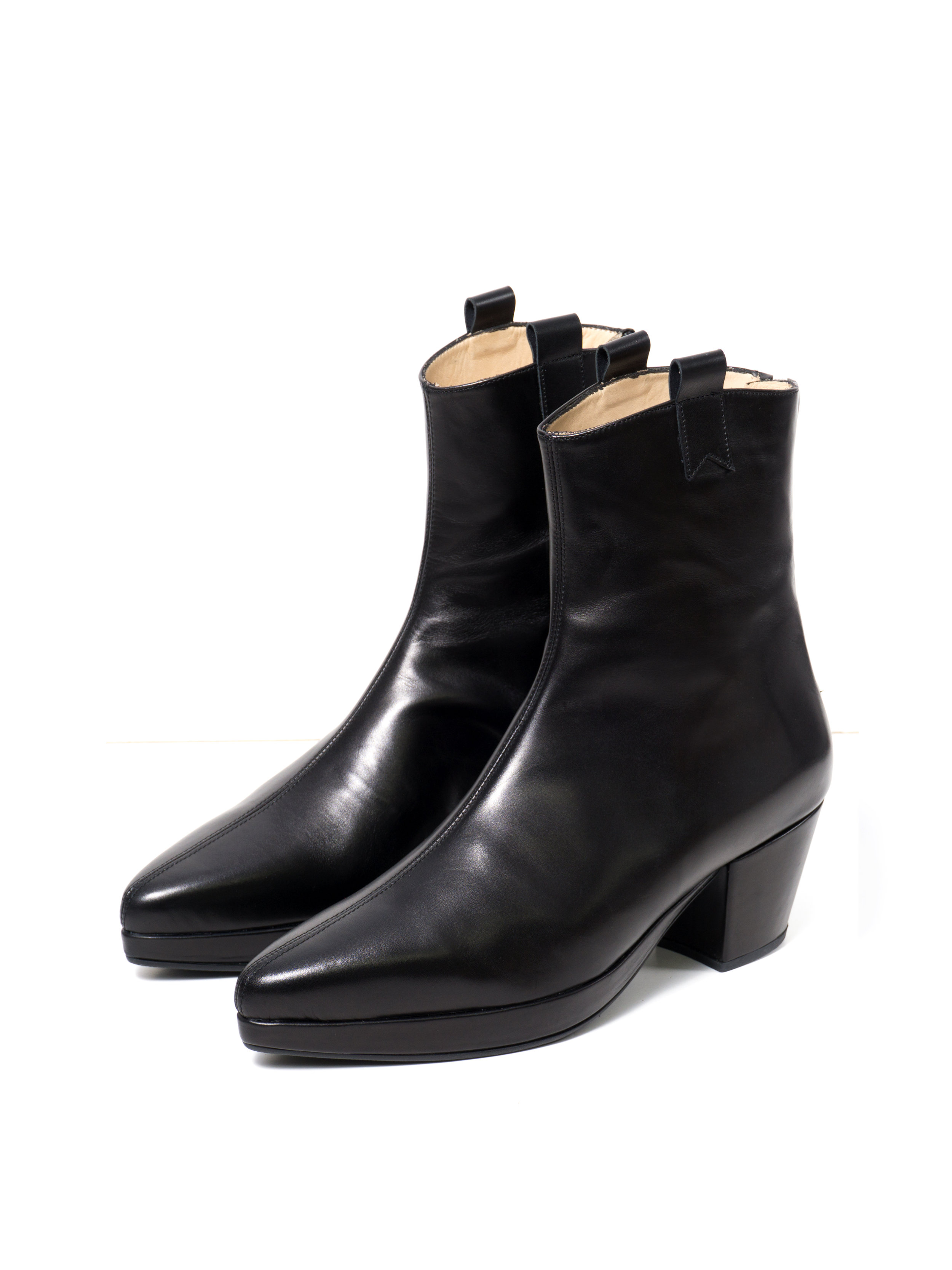 67425a7ddbad9 Ankle Boots High Nero — Rani Bageria