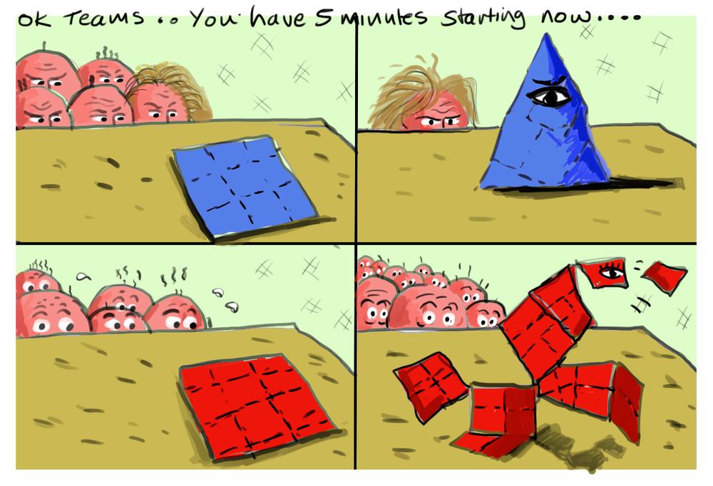 Political Origami Round
