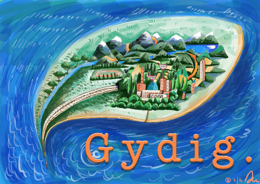 The Isle of Gydig v.1