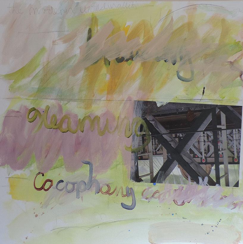 bruising, gleaming cacophony (Hungerford Bridge)