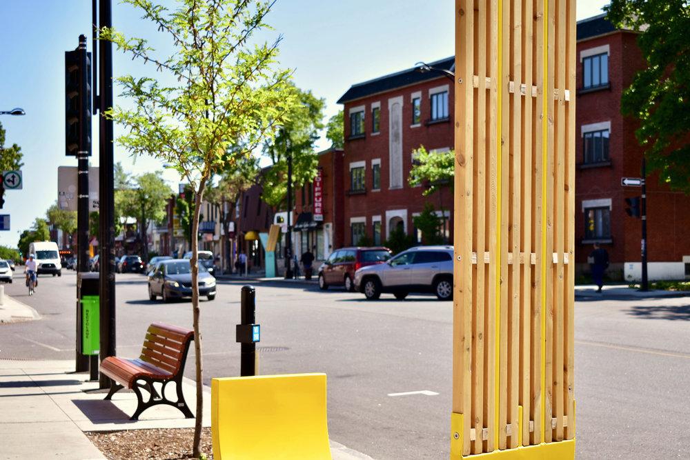 Urban design Promenade Jarry -
