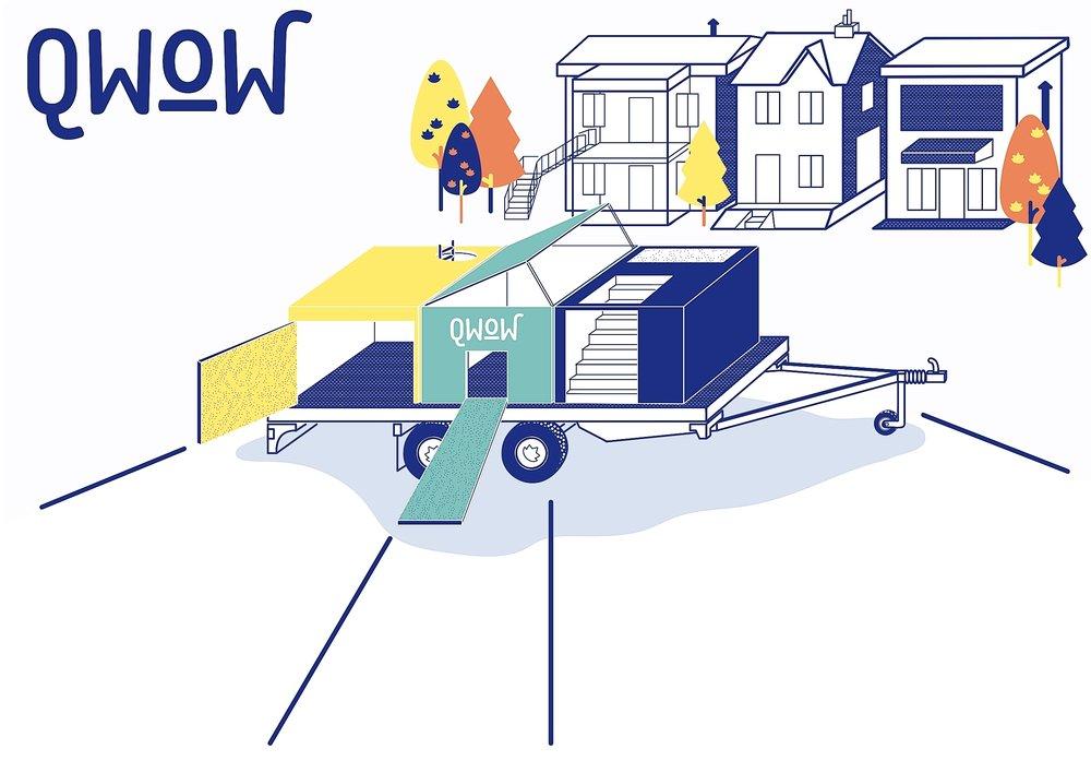 Q WOW - Constructlab - Projet dans les régions et municipalités québécoises - Suivre le projet