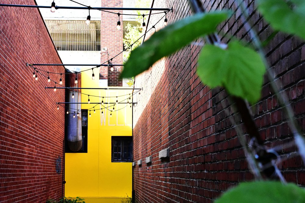 New design for the Well alley -